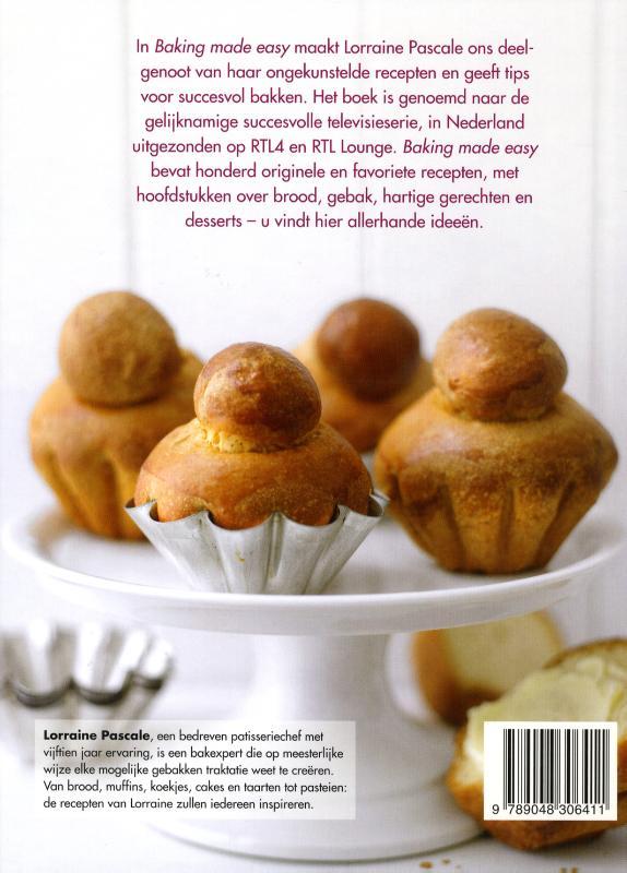 Baking made easy - Lorraine Pascale - MevrouwHamersma.nl