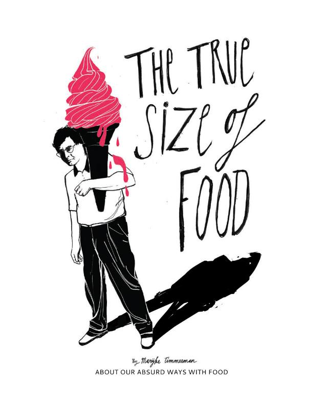 The true size of food