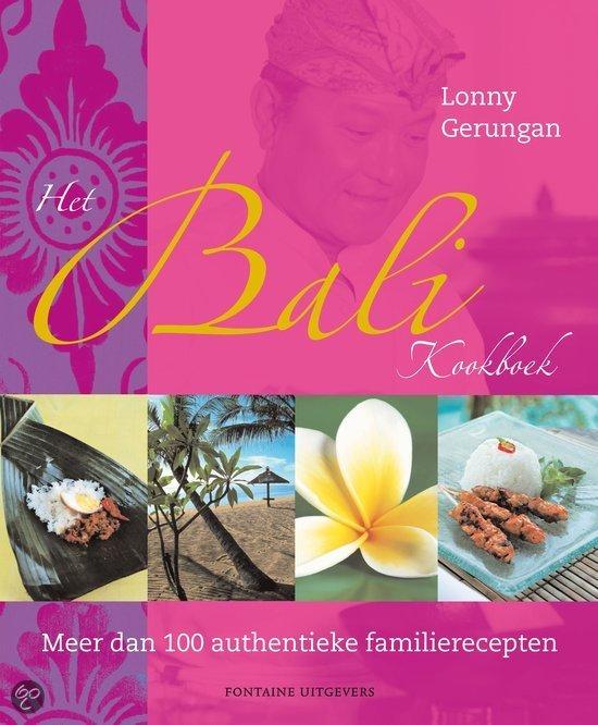 Het Bali Kookboek