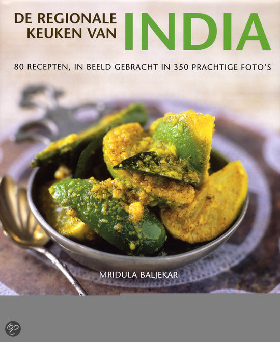 De regionale keuken van India