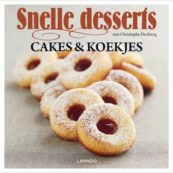 Snelle desserts – Cakes & koekjes