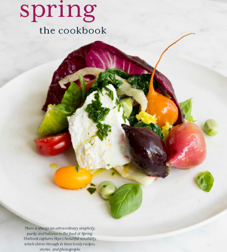Spring. The cookbook