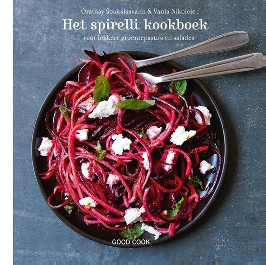 Het spirelli kookboek voor lekkere groentepasta's en salades