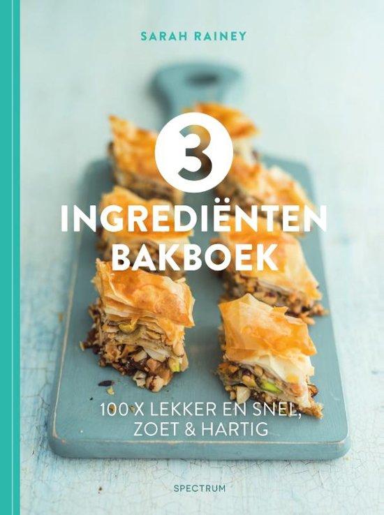3 Ingredienten Bakboek