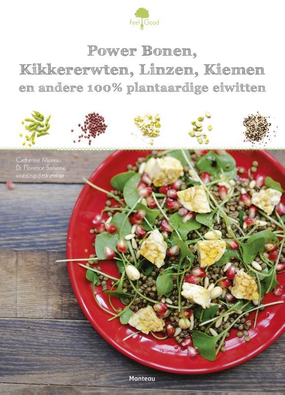 Power bonen, kikkererwten, linzen, kiemen en andere plantaardige eiwitten