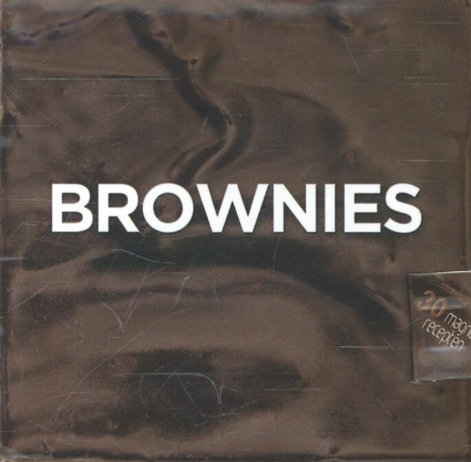 Brownies kookboekje magneetsluiting