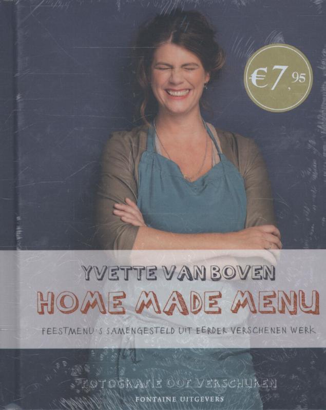 Home made menu set 4 ex