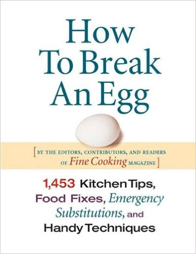 How to break an egg