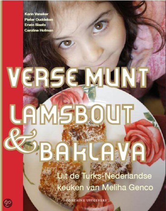 Verse munt, lamsbout en baklava