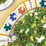 Pasta Pesto: Trofie met aardappels, sperziebonen en burrata
