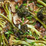 Filipijnse groenten-adobo met bimi & shiitake