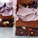 Brownie met walnoten & gojibessen