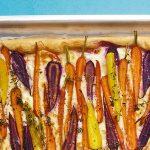 Tarte tatin met wortel & taleggio